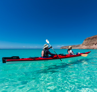 Mexico - Baja  Kayaking Tours